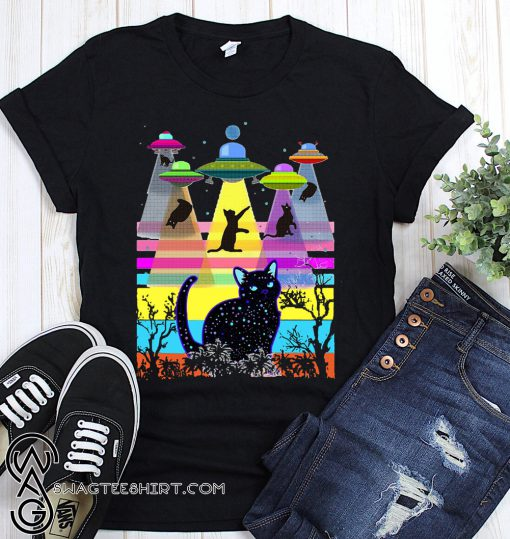 Storm area 51 they can't stop all of us cats shirt