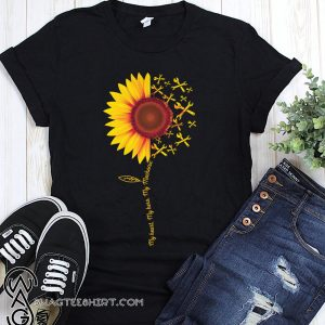 Sunflower my heart my hero my mechanic shirt