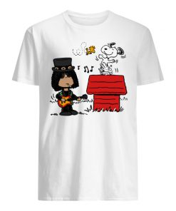 The peanuts snoopy and slash men's shirt