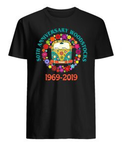 Woodstocks 50th anniversary 1969-2019 peace love men's shirt