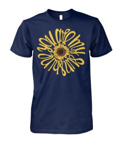 You are my sunshine sunflower unisex cotton tee