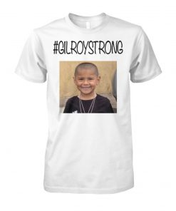 #gilroystrong rest in peace unisex cotton tee