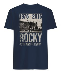 1976-2016 rocky 40th anniversary men's shirt