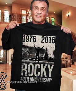 1976-2016 rocky 40th anniversary shirt