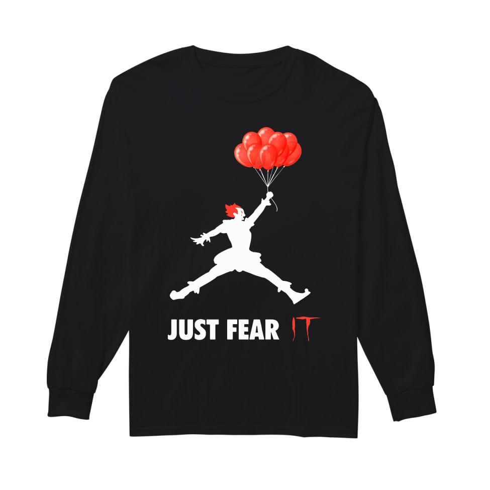 Air jordan pennywise jut fear it long sleeved