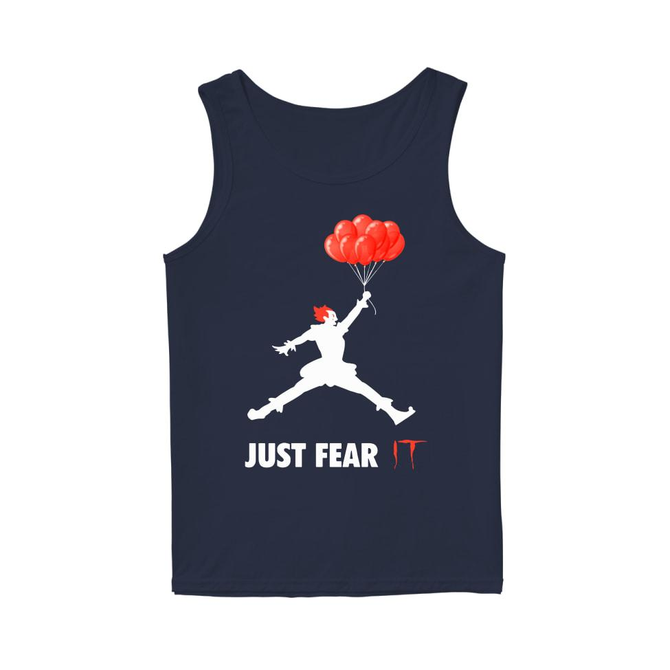 Air jordan pennywise jut fear it tank top