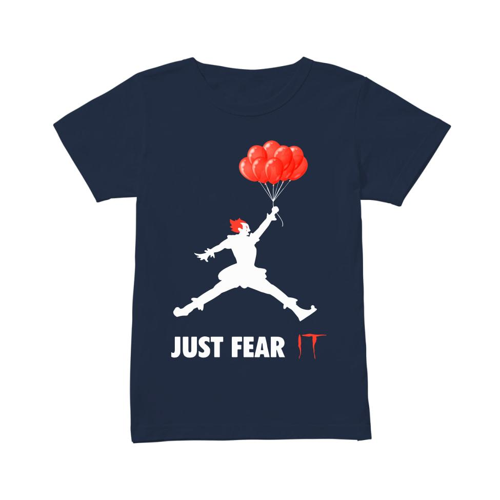 Air jordan pennywise jut fear it women's shirt