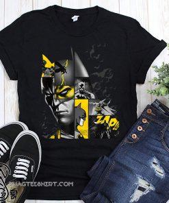 Batman 80 years bat panels dark shirt