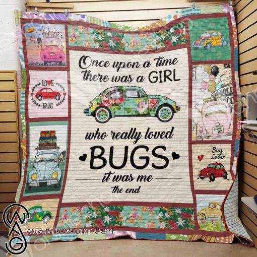 Bug car once upon a time there was a girl blanket