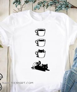 Cat in a cup shirt