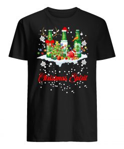 Christmas spirit heineken men's shirt