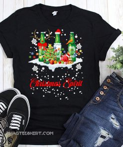 Christmas spirit heineken shirt