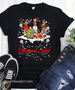 Christmas spirit pabst blue ribbon shirt