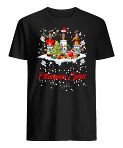 Christmas spirit pabst busch light men's shirt