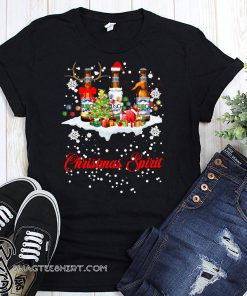 Christmas spirit pabst busch light shirt