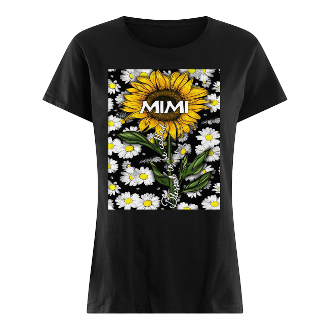 Daisy blessed to be called mimi women's shirt