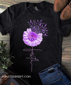 Daisy flower faith alzheimer's awareness shirt