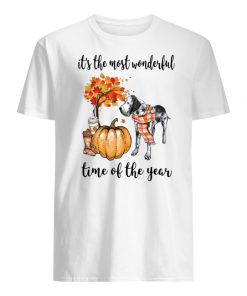 Dalmatian it's the most wonderful time of the year men's shirt