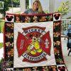 Disney mickey mouse firefighter blanket