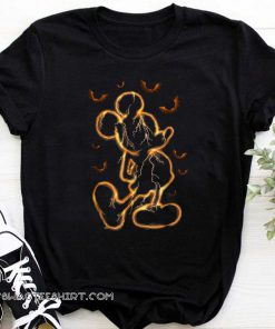 Disney mickey mouse halloween shirt