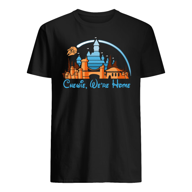 Disney star wars chewie we're home men's shirt