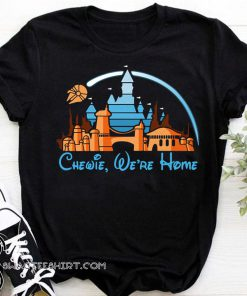 Disney star wars chewie we're home shirt