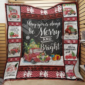 Hallmark movies red truck christmas blanket