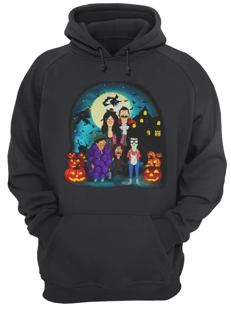 Halloween bob's burgers the belcher family hoodie