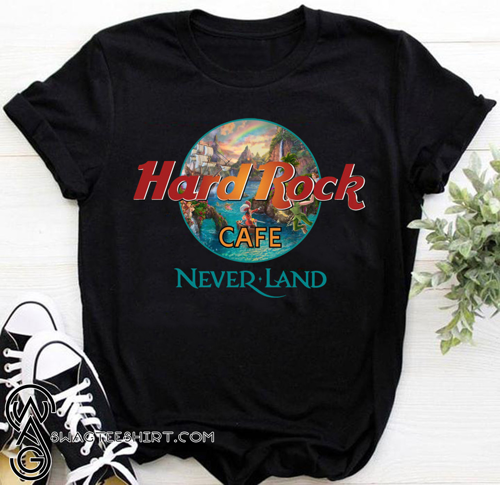 Hard rock cafe neverland shirt