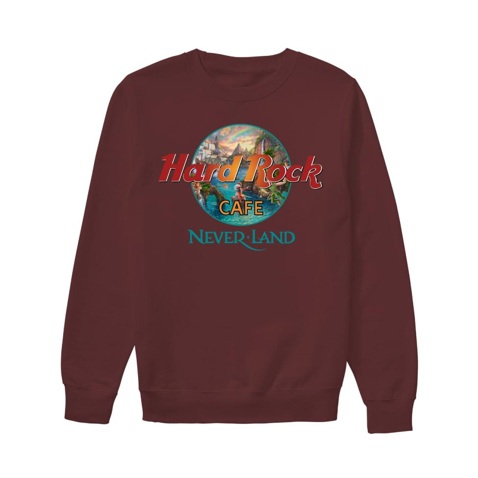 Hard rock cafe neverland sweatshirt