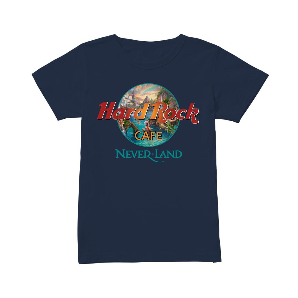 Hard rock cafe neverland women's shirt