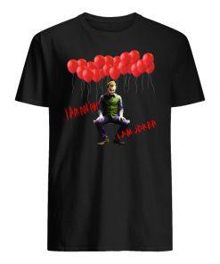 I am not hero I am joker men's shirt