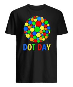 International dot day men's shirt