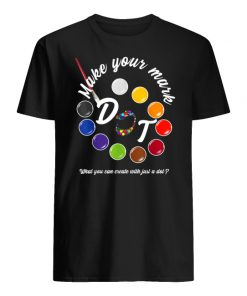 International dot day september 15 make your mark men's shirt