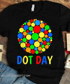 International dot day shirt