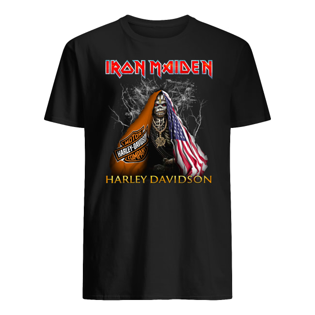 Iron maiden harley-davidson men's shirt