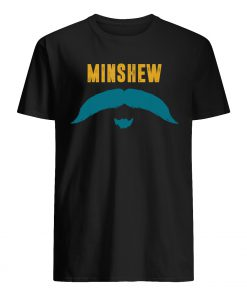 Jacksonville jaguars gardner minshew mustache mens shirt