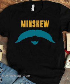 Jacksonville jaguars gardner minshew mustache shirt