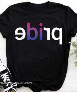 LGBTQ pride parade bisexual bi pride shirt
