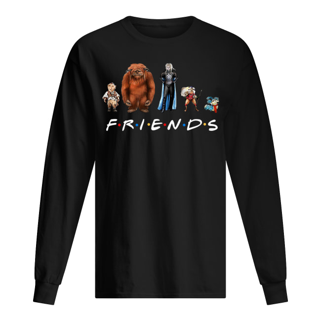 Labyrinth characters friends tv show long sleeved
