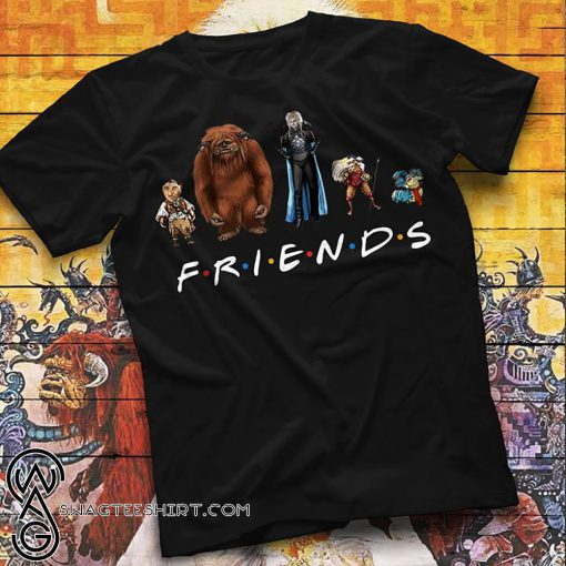Labyrinth characters friends tv show shirt