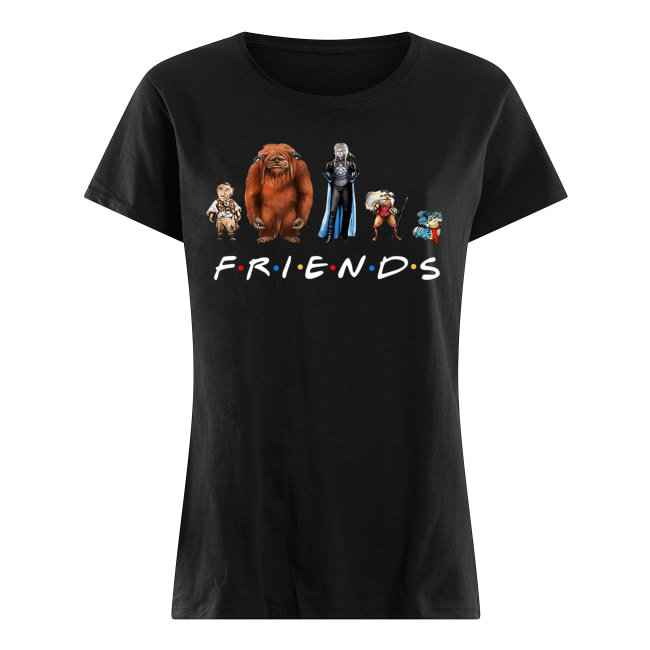 Labyrinth characters friends tv show women's shirt