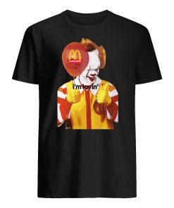 Mcdonald's I'm lovin' it pennywise mens shirt