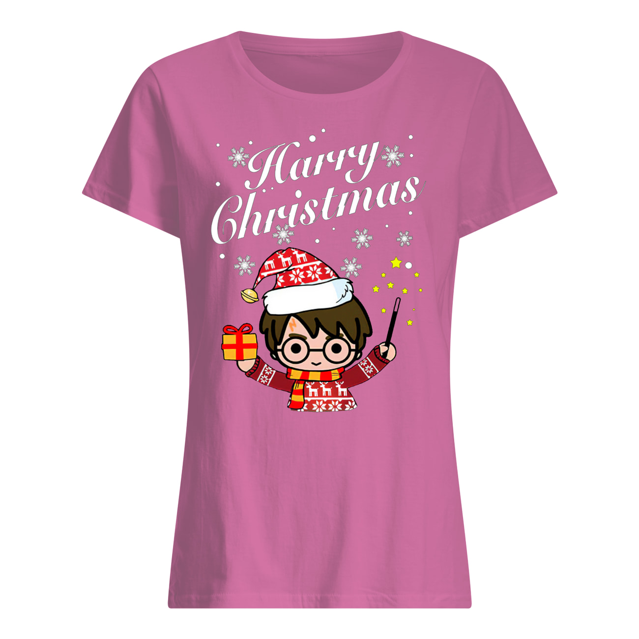 Merry christmas harry potter harry christmas women's shirt