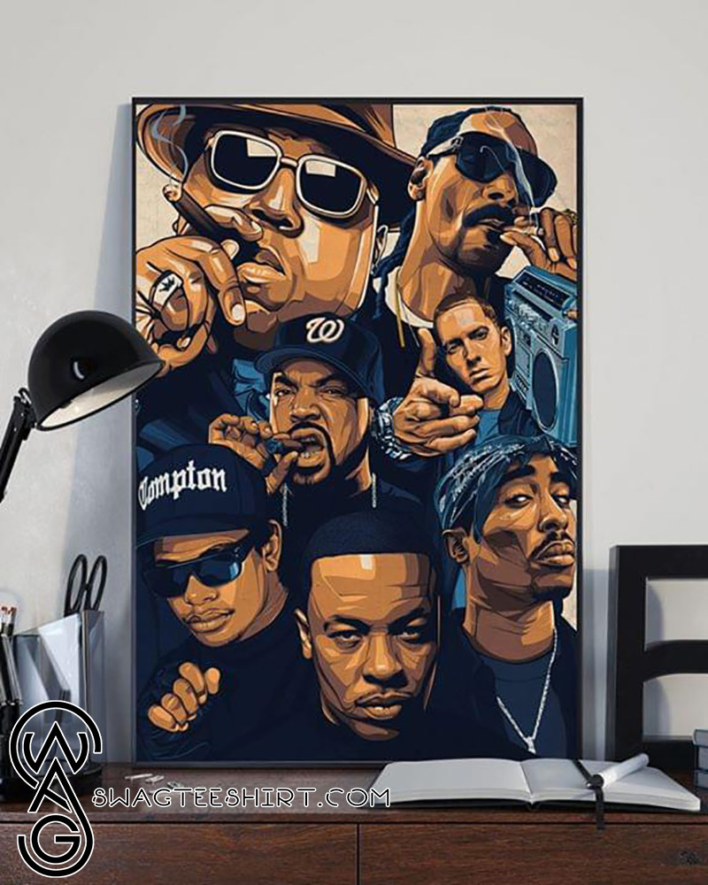 Notorious big snoop dogg ice cube eminem tupac poster
