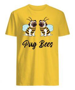 Pug bees couples mens shirt