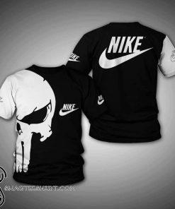 Skull nike 3d t-shirt