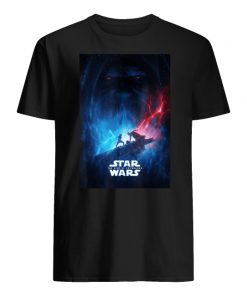 Star wars the rise of skywalker poster men's shirt