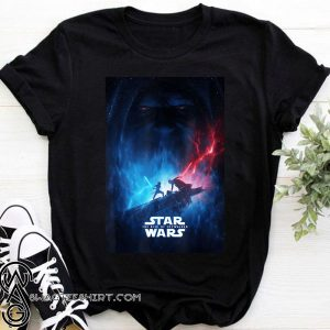 Star wars the rise of skywalker poster shirt