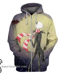 The nightmare before christmas jack skellington 3d hoodie